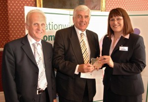 Local heroes accept award